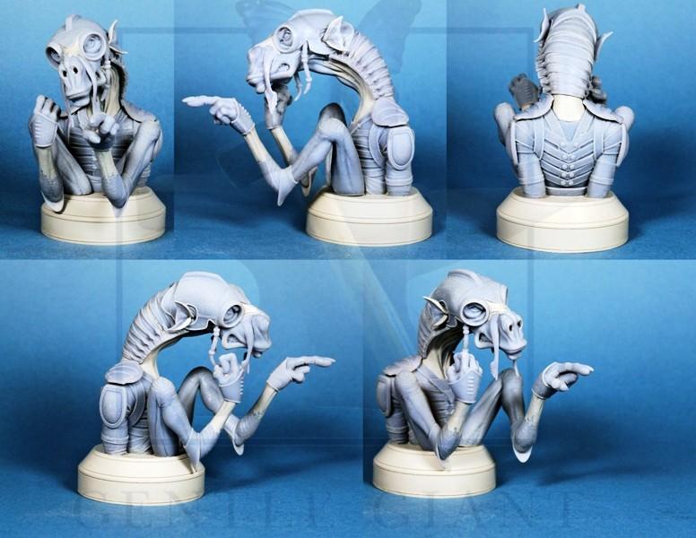 Gentle Giant - Sebulba and Anakin 2-pack Mini Busts  Sebulb10