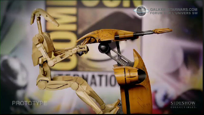 Sideshow - STAP Battle Droid 1/6 Scale Figure Stap310