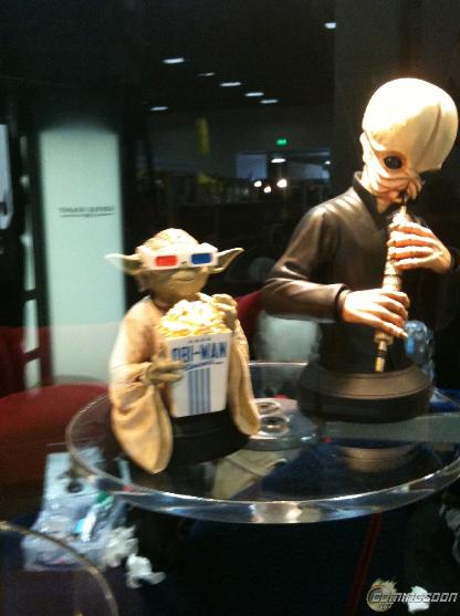 GG - Yoda Popcorn Obi-Wan - Buste Yodapo10