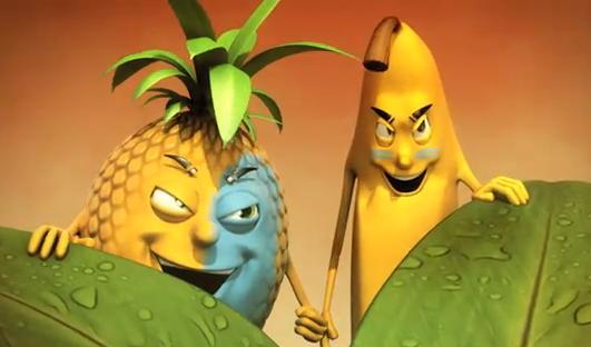 Images fruits et légumes en délires  - Page 20 Banane10