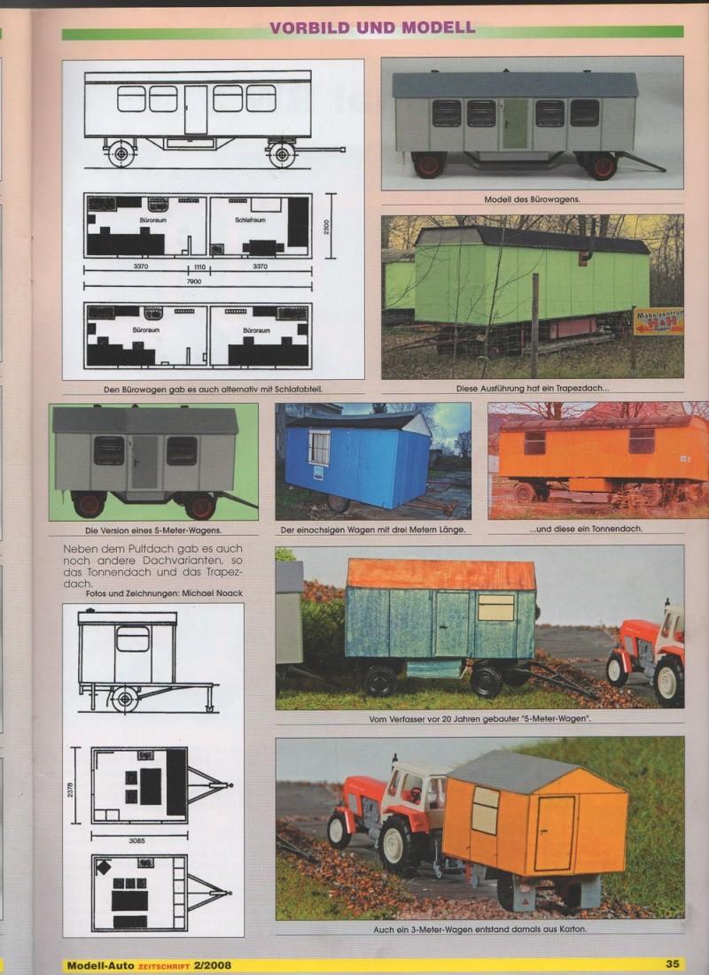Baustellenanhänger Typ 7 mit Wasch- und Duscheinrichtung Bah0410