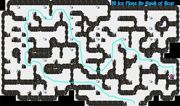 Ice Floes Map Iceflo10
