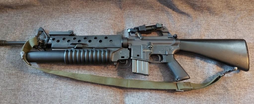 Estimation - Neutra Vietnam M16A1+M203 et XM177E2 20200610