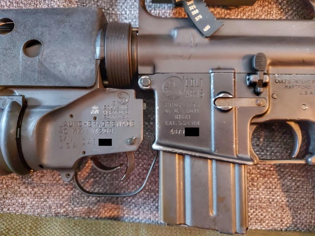 Estimation - Neutra Vietnam M16A1+M203 et XM177E2 20200611