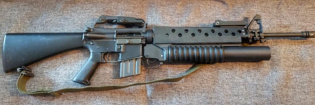 Estimation - Neutra Vietnam M16A1+M203 et XM177E2 20200612