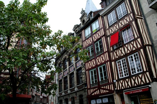 Rouen - Rue de la Vicomté Octobr10