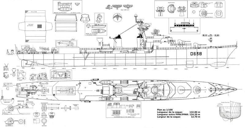 """Escorteur d'escadre """"La Galissonnière""""  plan MRB 1/100è (le chantier a réouvert ses portes) - Page 2 01_pla10"""