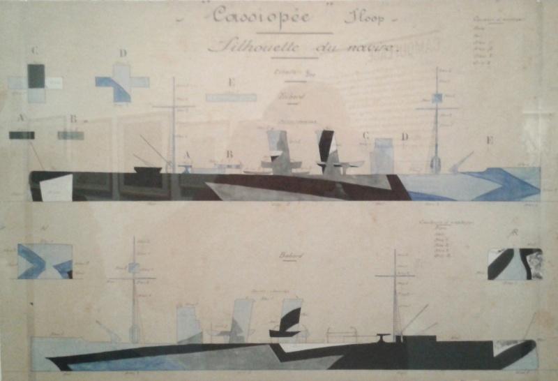 camouflages de navires de la grande Guerre 1914/1918 2012-019