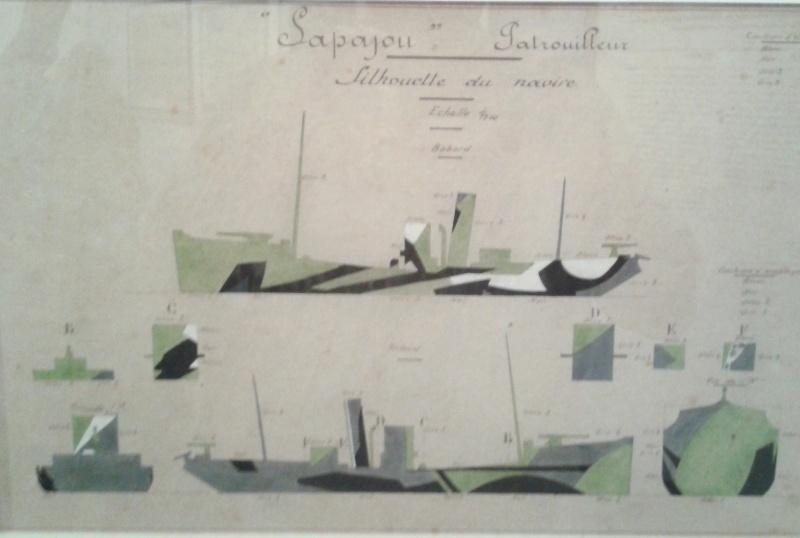 camouflages de navires de la grande Guerre 1914/1918 2012-020