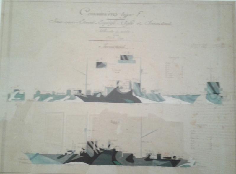 camouflages de navires de la grande Guerre 1914/1918 2012-021