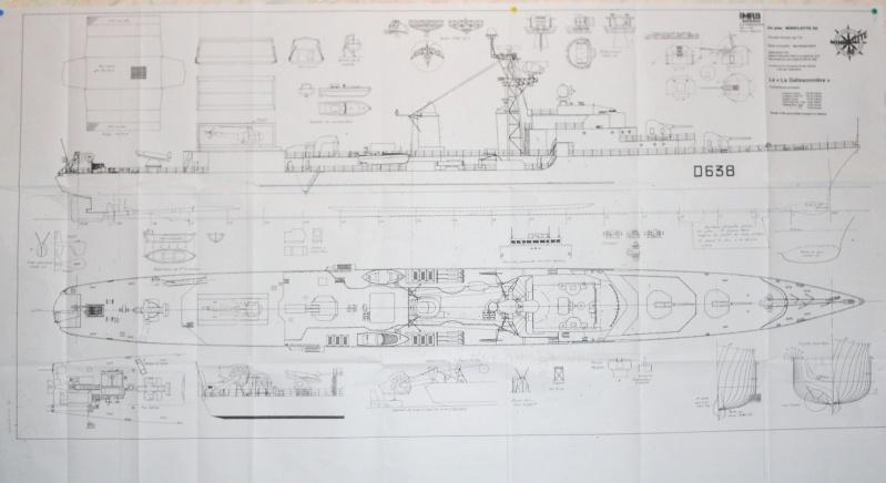 """Escorteur d'escadre """"La Galissonnière""""  plan MRB 1/100è (le chantier a réouvert ses portes) Dscn0010"""