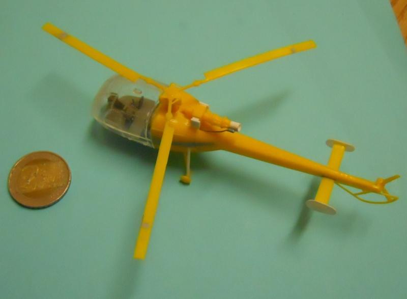 montage Alouette III Heller échelle 1/100ème ( finie ) Dscn0719