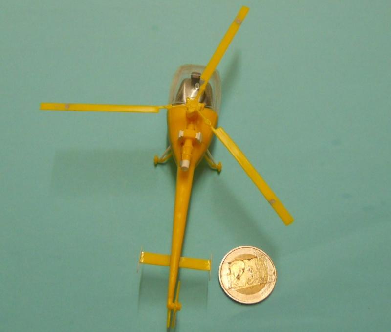 montage Alouette III Heller échelle 1/100ème ( finie ) Dscn0721