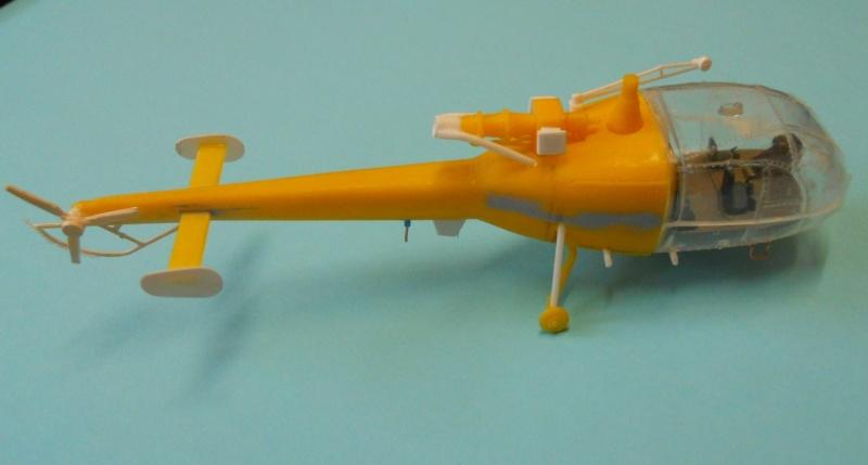 montage Alouette III Heller échelle 1/100ème ( finie ) Dscn0728