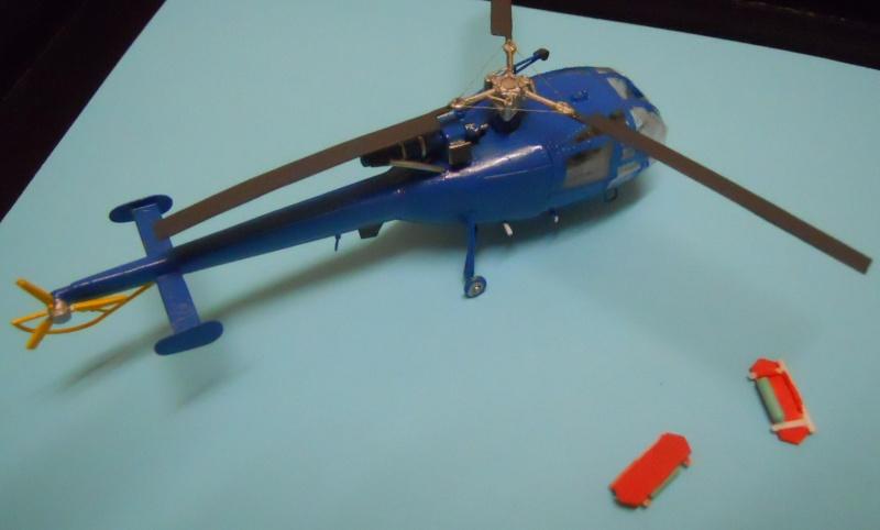 montage Alouette III Heller échelle 1/100ème ( finie ) Dscn0732