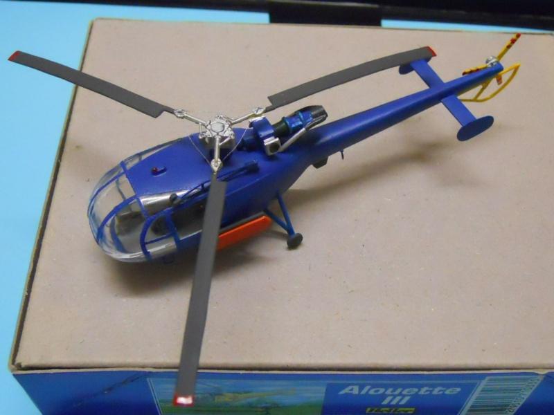 montage Alouette III Heller échelle 1/100ème ( finie ) Dscn0735