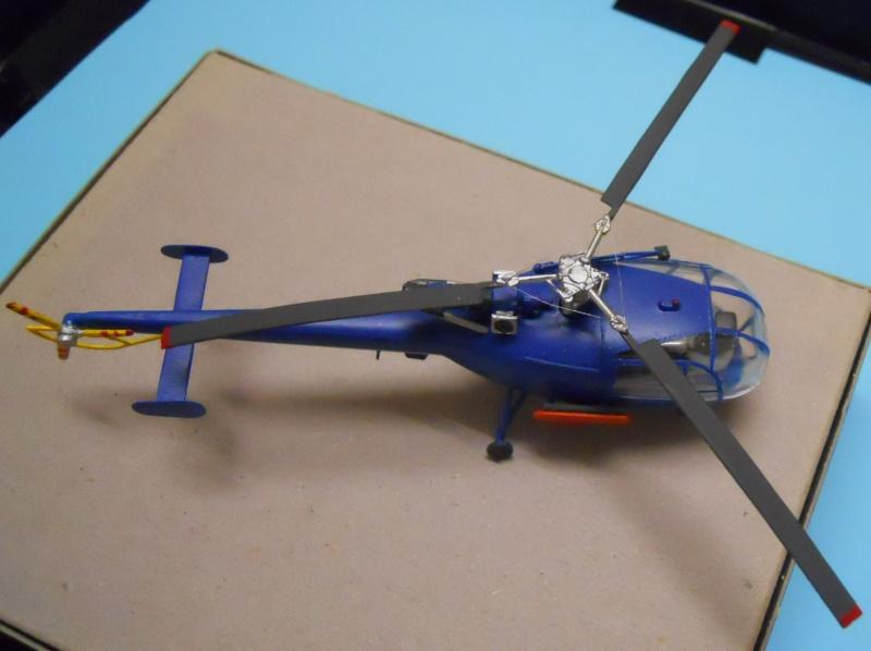montage Alouette III Heller échelle 1/100ème ( finie ) Dscn0736