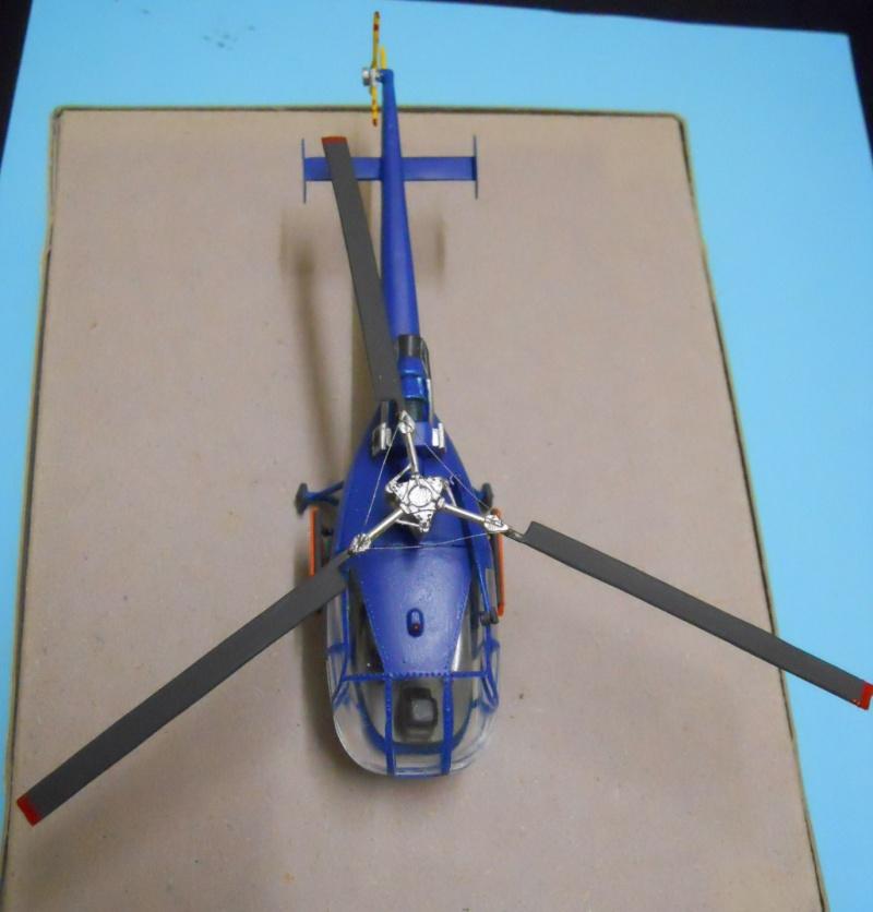 montage Alouette III Heller échelle 1/100ème ( finie ) Dscn0739