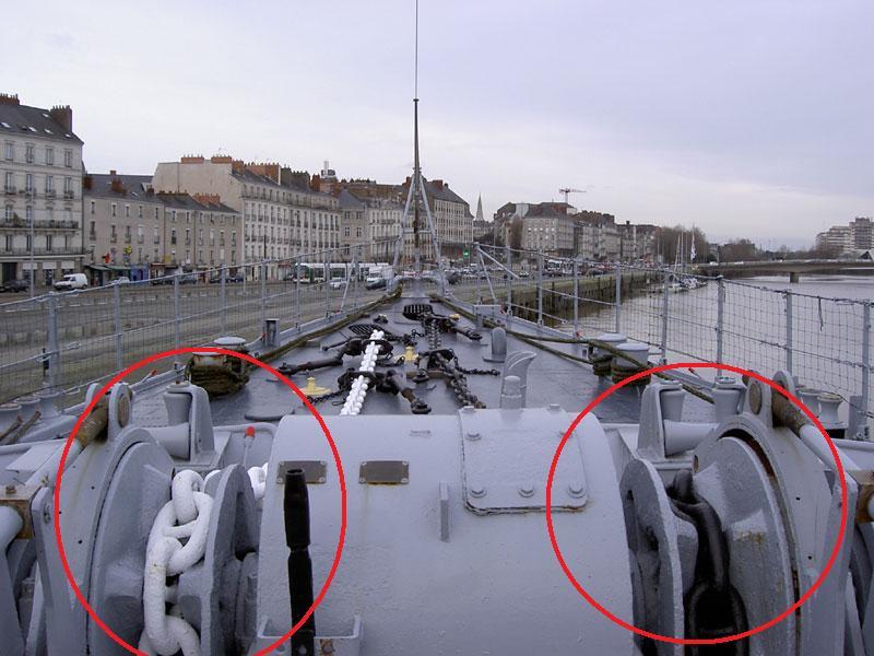 """Escorteur d'escadre """"La Galissonnière""""  plan MRB 1/100è (le chantier a réouvert ses portes) - Page 10 Guinde11"""