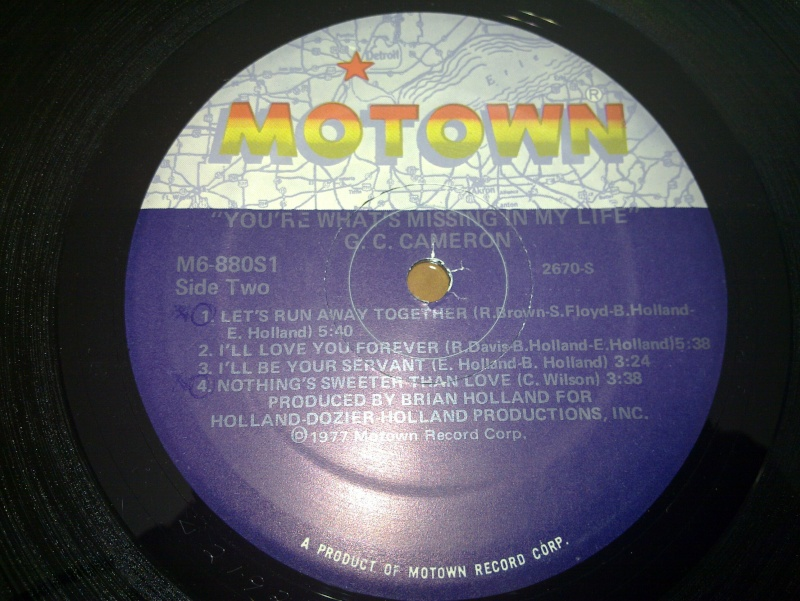 GC Cameron - you're what's missing in my life - motown 1977 20090213