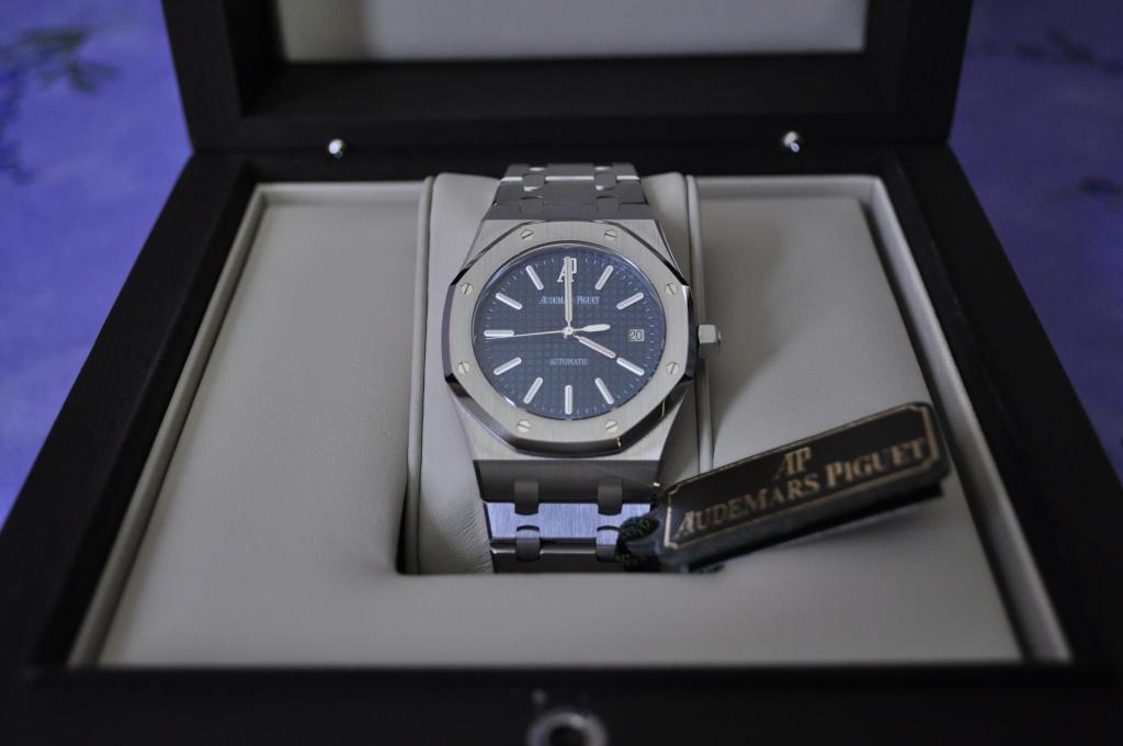 Audemars Piguet Royal OAK 15300 cadran bleu Dsc_0157