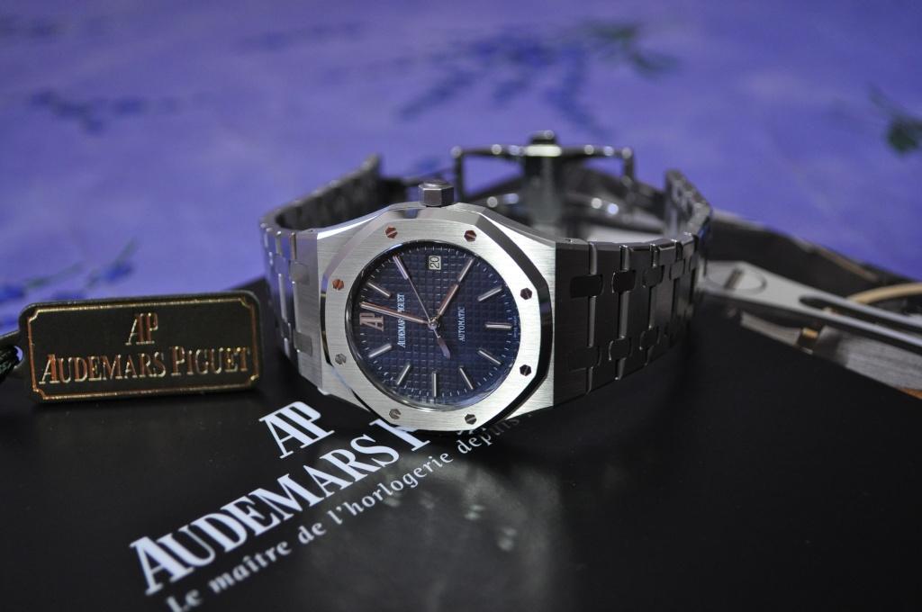 Audemars Piguet Royal OAK 15300 cadran bleu Dsc_0162