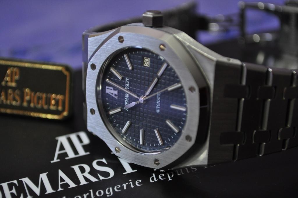 Audemars Piguet Royal OAK 15300 cadran bleu Dsc_0163