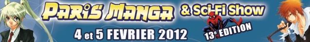 13e édition PARIS MANGA - 4 et 5 février 2012 Bandep10