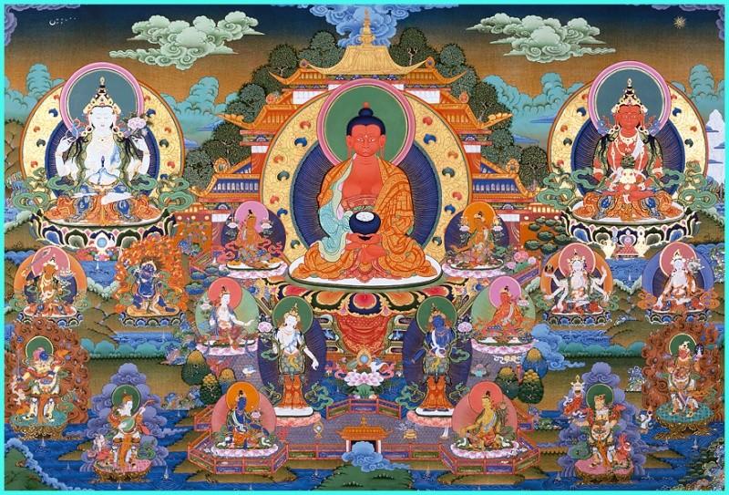 Nichiren - Introduction au bouddhisme de la Nichiren Shôshû - Page 4 Amitab11
