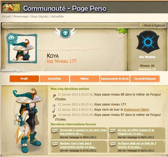 Ripper votre avatar en .pdf depuis le site officiel Captur10