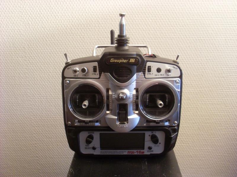 Vends radio 8 voies MX16s + 2.4GHz Assan VENDUE ! Sl387616