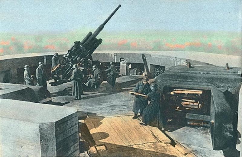 Les Flakturm (tour de la DCA),Les bunkers unique au monde 6e310410