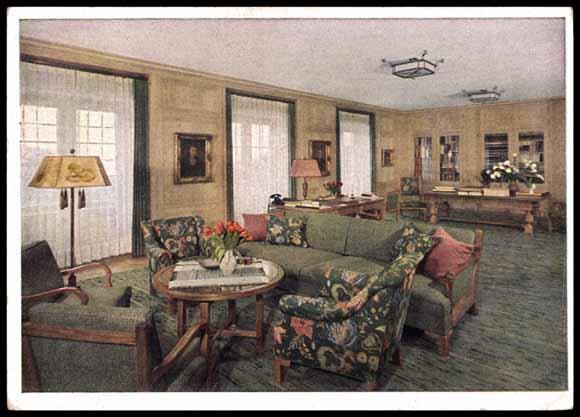 Le Berghof   Residence du Fuehrer Arbeit10