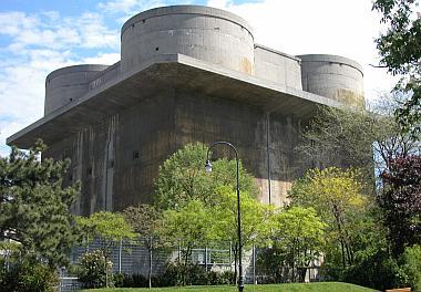 Les Flakturm (tour de la DCA),Les bunkers unique au monde Arensb10