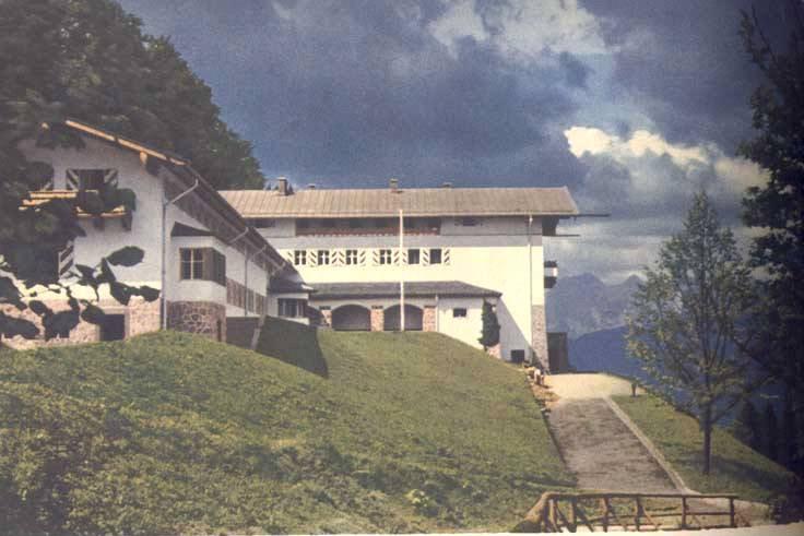 Le Berghof   Residence du Fuehrer Bergho12