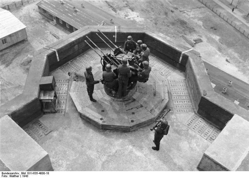 Les Flakturm (tour de la DCA),Les bunkers unique au monde Bundes38