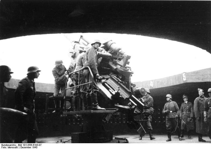 Les Flakturm (tour de la DCA),Les bunkers unique au monde Bundes39