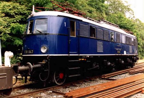 Amerika    Le train de Hitler E_1810