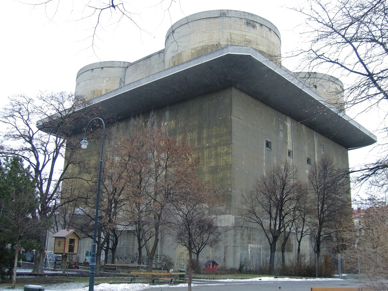 Les Flakturm (tour de la DCA),Les bunkers unique au monde Flaktu10