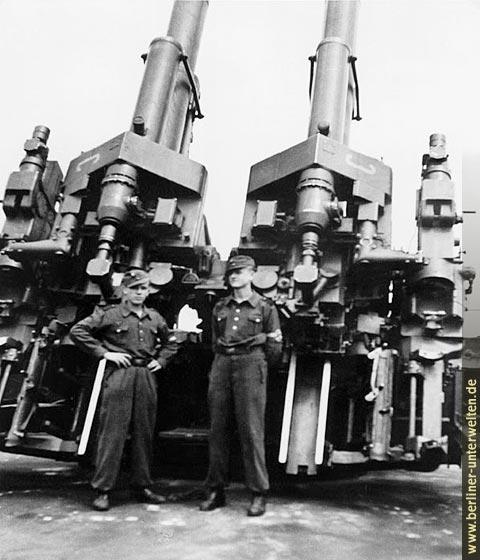 Les Flakturm (tour de la DCA),Les bunkers unique au monde Flaktu11