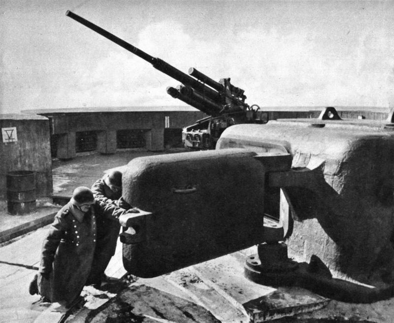 Les Flakturm (tour de la DCA),Les bunkers unique au monde Flaktu12