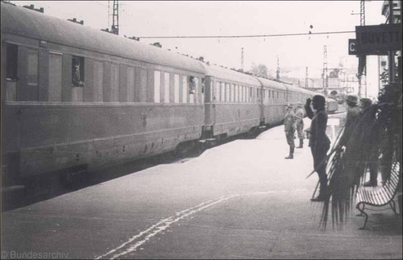 Amerika    Le train de Hitler France10