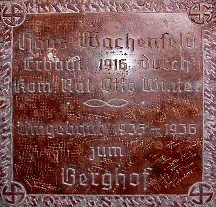 Le Berghof   Residence du Fuehrer Grunds10
