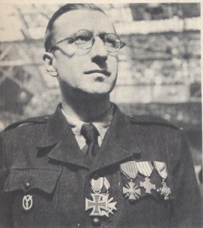 brassard et insigne milice française Jean_b10
