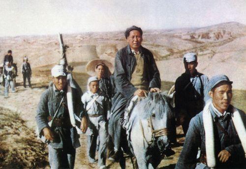 La longe marche Un retrait de 12.000 km Mao_le10