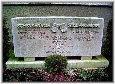 "Melitta comptesse von Stauffenberg ""arien d'honneur"" et EKII Stauff11"