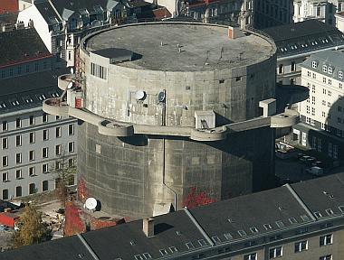 Les Flakturm (tour de la DCA),Les bunkers unique au monde Stifts10
