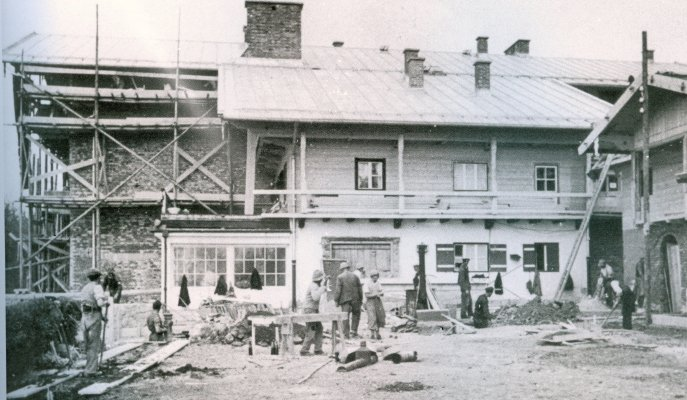 Le Berghof   Residence du Fuehrer Umbau11