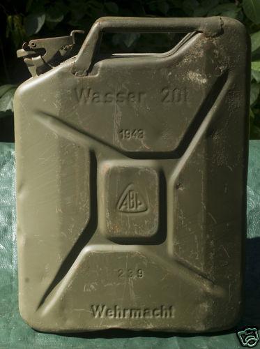 Le Jerrycan 20 litres (Kraftstoffkanister) Wasser10