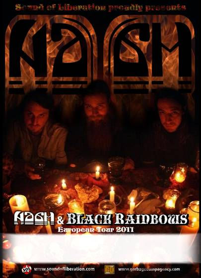 NAAM + Black Rainbows - Combustibles Image010